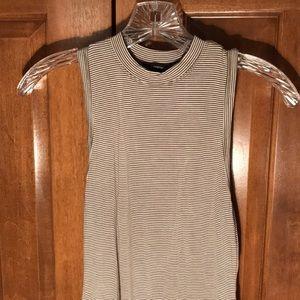 Striped Tank Top Body Suit